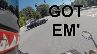 Car Cuts Me off | INSTANT KARMA!