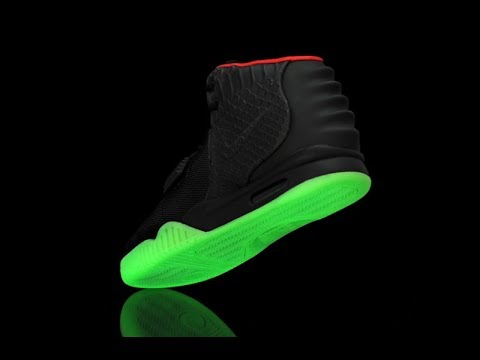 Nike Yeezy 2 Sole Removal | Remade Green Glow