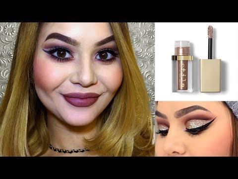 Stila Glitter & Glow Liquid Eyeshadow Review
