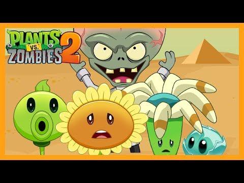 Plantas vs Zombies 2 Animado Capitulo 1,2,3,4 Completo ☀️Animación 2018