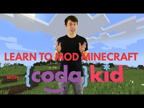 CodaKid Minecraft Mod Creation: The Adventure Begins Intro