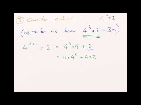 How to: Prove by Induction - Proof of Divisibility (Factor/Multiples)