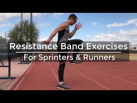 Speed Training - Resistance Band Exercises for Sprinters & Runners - Strength Training for Runners