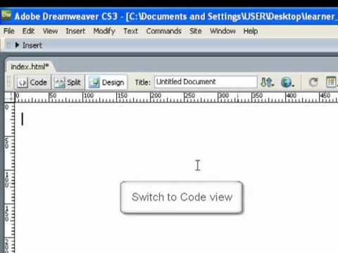 Dreamweaver CS3:  Attaching an external Style Sheet to an html document