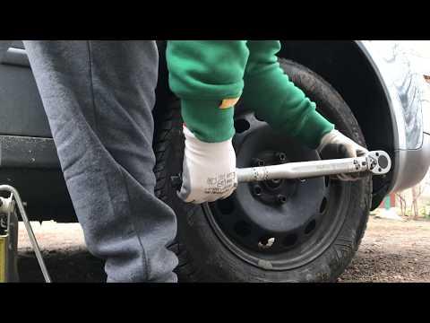 Schimbare prezon blocat sau rotund/Stuck or rounded lug nut