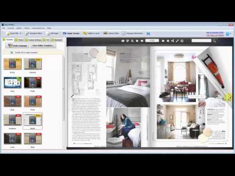 Convert PDF to Make a HTML Magazine
