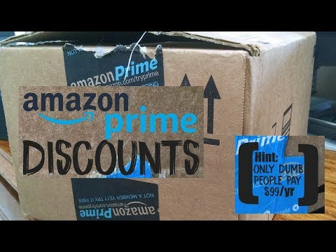 Amazon Prime Discounts: 5 Ways to Pay WAY Less Than $99/year