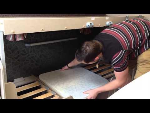 How to build caravan bunk beds