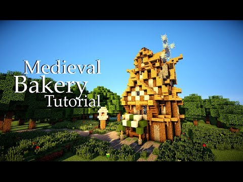 Minecraft Medieval Bakery Tutorial