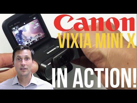 Canon Vixia Mini X REVIEW (Vlogging Camera)