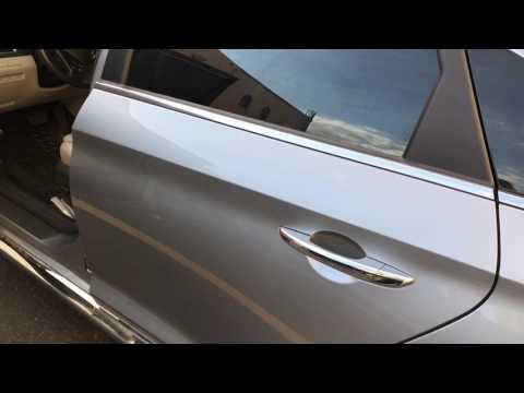 Fuse box location 2011-2015 Hyundai Sonata (caja de fusibles)