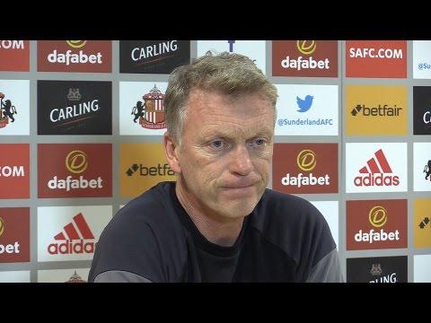 David Moyes Pre-Match Press Conference - Sunderland v Arsenal