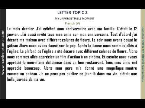 French letters - 1