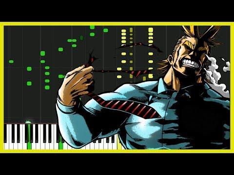 Odd Future - Boku no Hero Academia 3 (OP) [Piano Tutorial] (Synthesia) // Piano Man