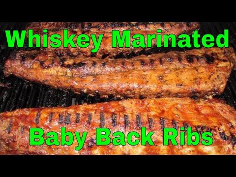 Whiskey Marinated Baby Back Ribs