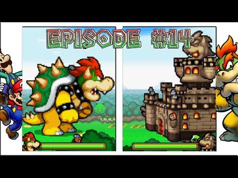 Mario & Luigi: Bowser's Inside Story - Giant Battle, Bowser's Castle Bash - Episode 14