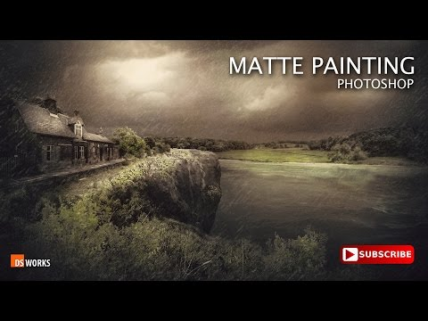 Making of MATTE PAINTING PHOTOSHOP MANIPULATION  