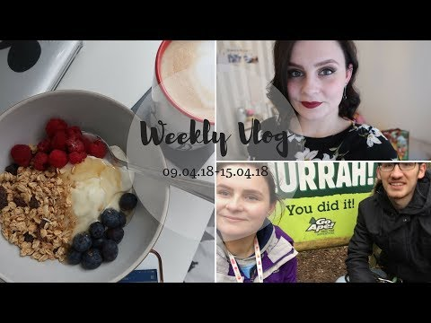 Weekly Vlog | Go Ape & Moving Rooms! 🌲🐒