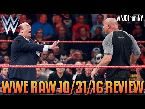 WWE Raw 10/31/16 Review: WWE RAW Is The REAL NIGHTMARE On Halloween & WE The Fans Are TERRIFIED