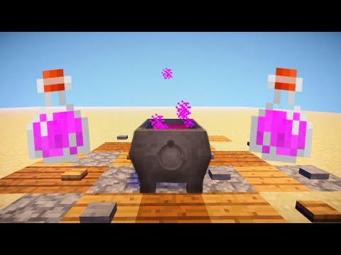 Minecraft : How to make a Witch's Cauldron