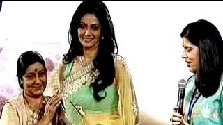 Sridevi gets Entertainer of the Year Award