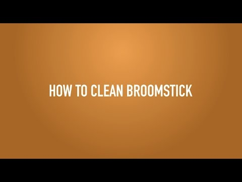PORTALE - How to clean Broomstick