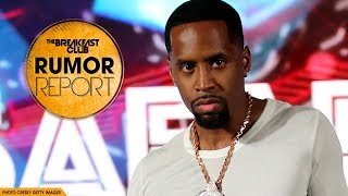 Safaree Unknowingly Fractures His Neck