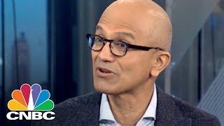 Microsoft CEO Satya Nadella Talks Successful Business Culture And Cutting Edge Innovation   CNBC