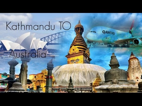 Journey from Nepal (KTM) to Australia . 28/07/2016