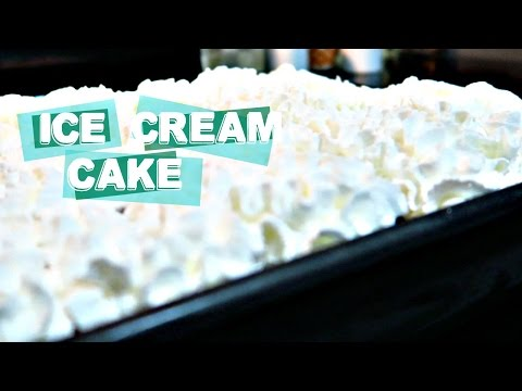 EASY ICE CREAM CAKE RECIPE | FOODIE FRIDAY