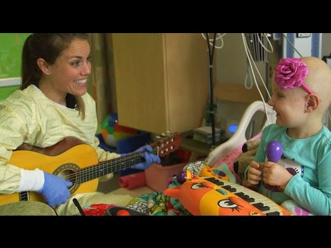 When music is medicine for kids coping with cancer