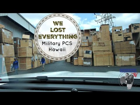 WE LOST EVERYTHING | Military PCS Move Hawaii