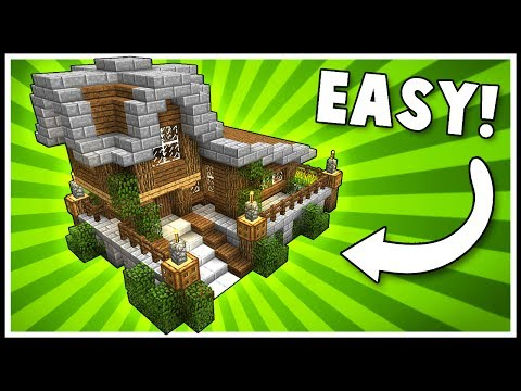 SIMPLE & STYLISH SURVIVAL HOUSE! - Minecraft Tutorial