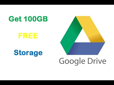 #2 Get 100GB Free Google Drive Storage