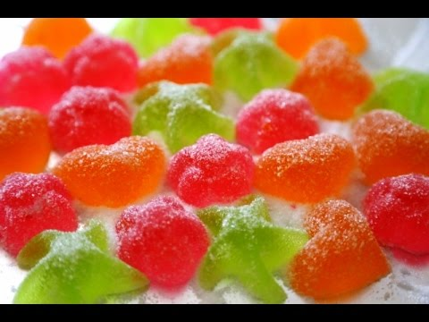 How to Make Homemade Gum Drops Мармелад Candy Recipe - Heghineh.com