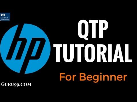 HP UFT/QTP Tutorial for Beginners