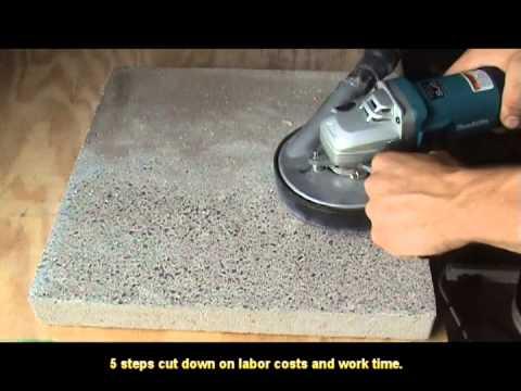 Toolocity Con-Flex 5 step diamond polishing pads for concrete