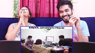 INDIANS react to School Admission Prank   By Nadir Ali In   P4 Pakao