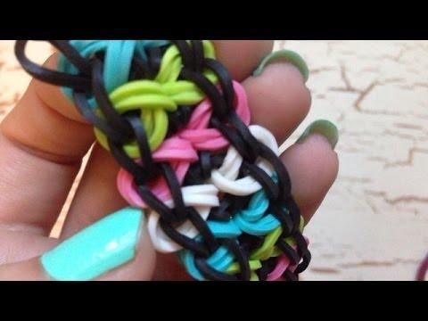 How to Make the BowTie Rainbow Loom Bracelet !