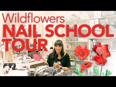 Wildflowers Nail Academy and Shop Tour