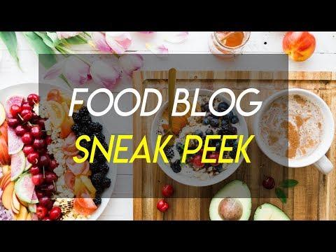 How to Start a Food Blog - Sneak Peek