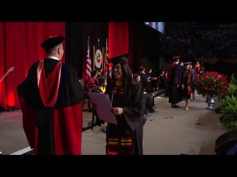 2018 School of Business Undergraduate Ceremony