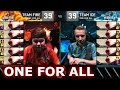 Team Ice vs Team Fire - All For One | LoL All-Star Event 2016 Day 2 | 5 Lee Sin vs 5 Lee Sin