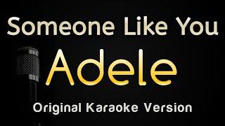 Someone Like You - Adele (Karaoke Songs With Lyrics)