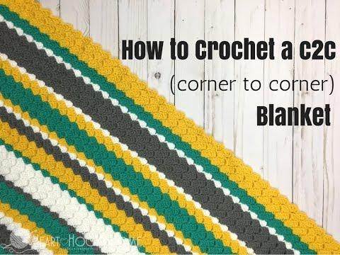 How to Crochet C2C (Corner to Corner)
