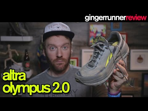 ALTRA OLYMPUS 2.0 REVIEW | The Ginger Runner