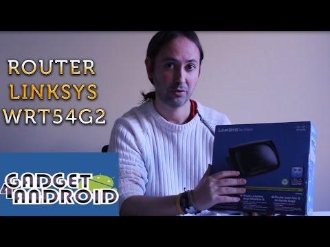 Sorteo Router Linksys WRT54G2