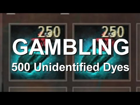 Gambling 500 Unidentified Dyes  |  Guild Wars 2