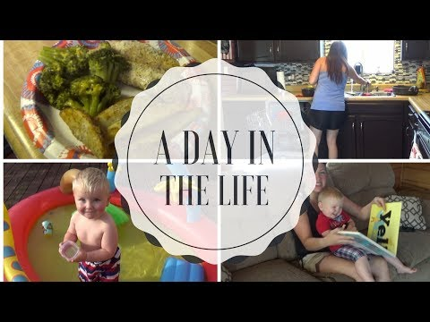 A Day in the Life of a SAHM of 3 - July 10, 2017