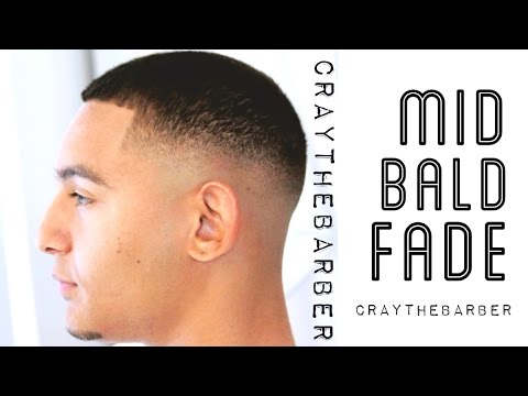 How To Do A Mid Bald Fade